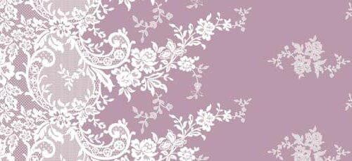 Δαντέλα λουλούδι ροζ