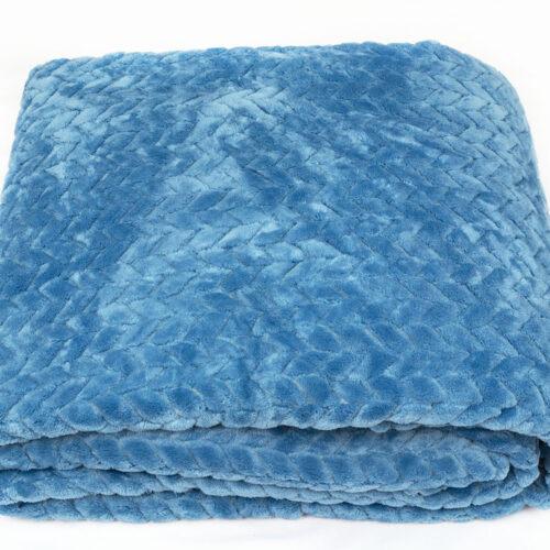 Coral Fleece Μπλε
