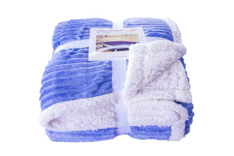 Κουβερτάκι προβατάκι γαλάζιο