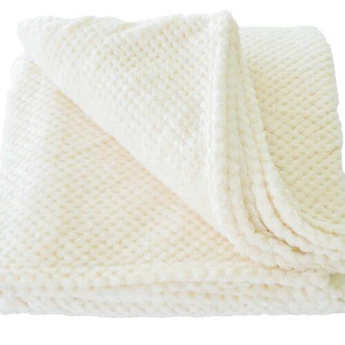 Κουβέρτα Coral Fleece Εκρού