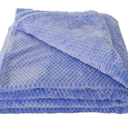 Κουβέρτα Coral Fleece Γαλάζιο