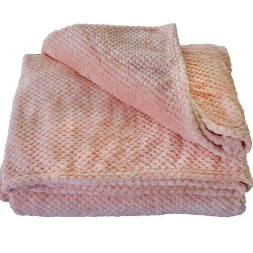 Κουβέρτα Coral Fleece Σομόν