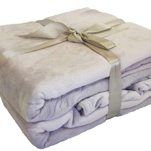 Κουβέρτα Super Soft Γκρι