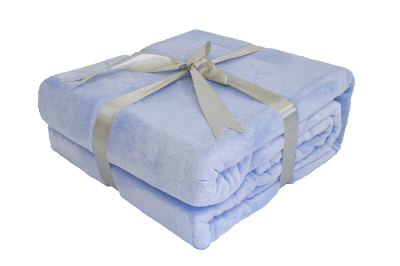 Κουβέρτα Super Soft Γαλάζιο