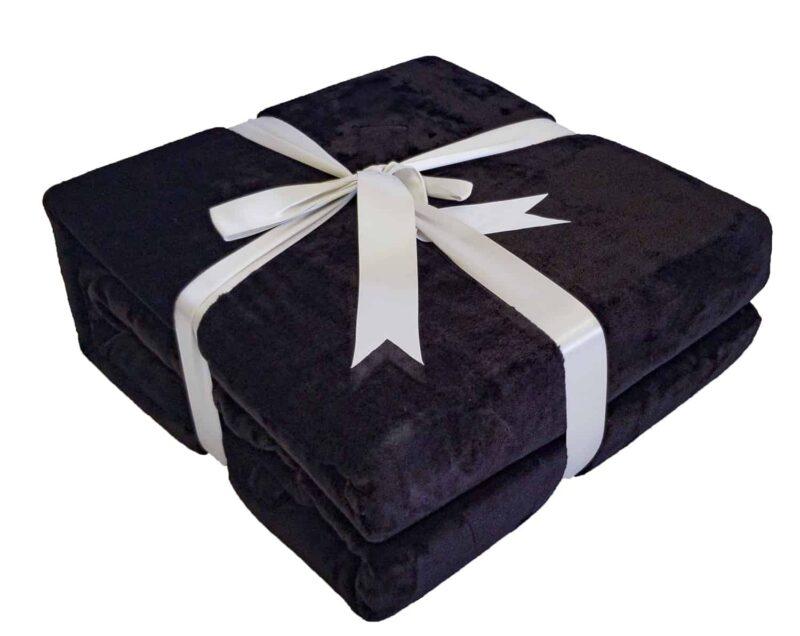 Κουβέρτα Super Soft Μαύρο