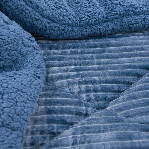 Κουβερτοπάπλωμα μπλε