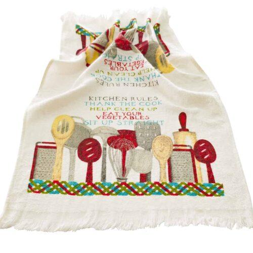 Πετσέτα κουζίνας κουζινικά
