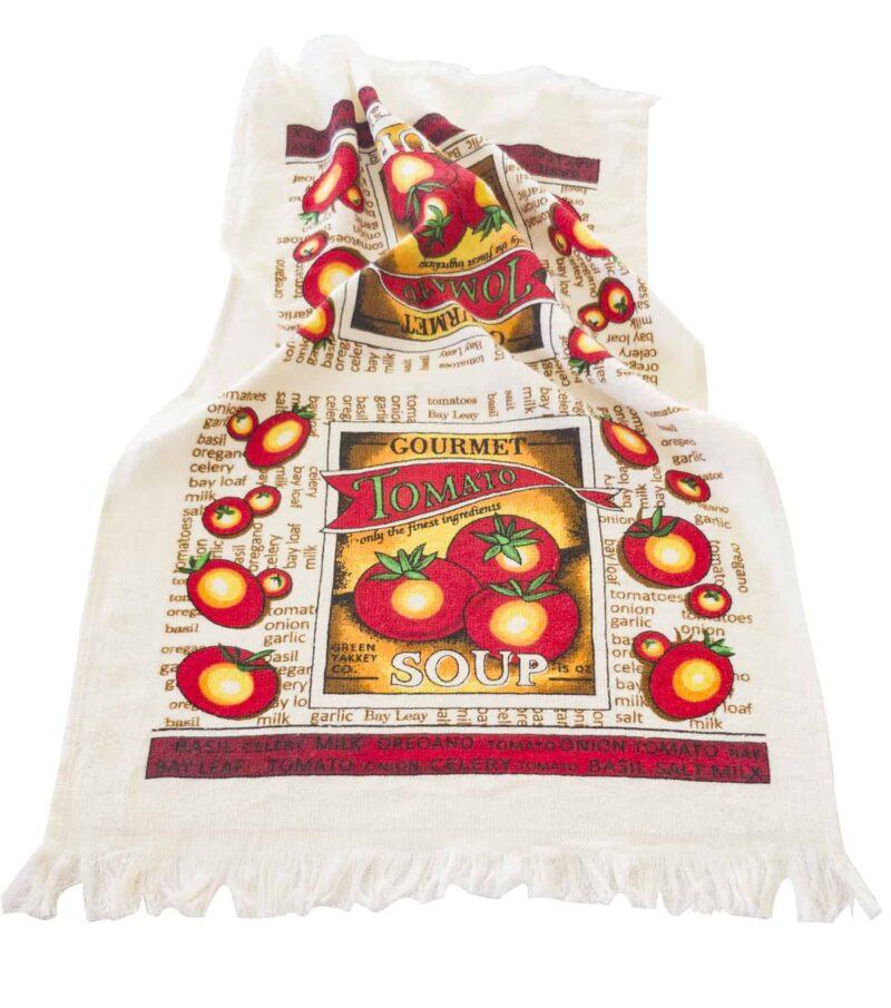 Πετσέτα κουζίνας ντομάτες