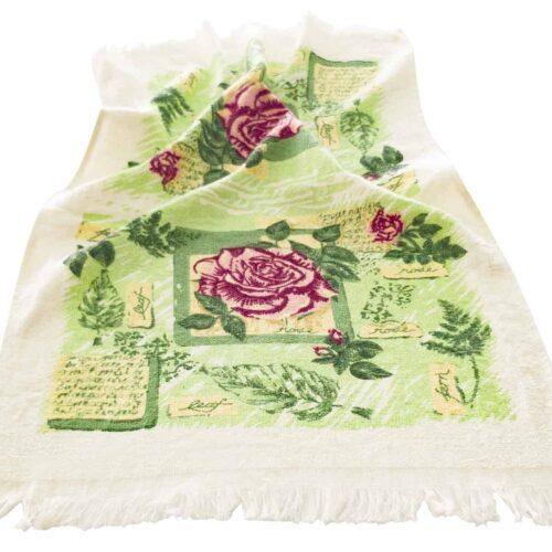 Πετσέτα κουζίνας τριαντάφυλλα