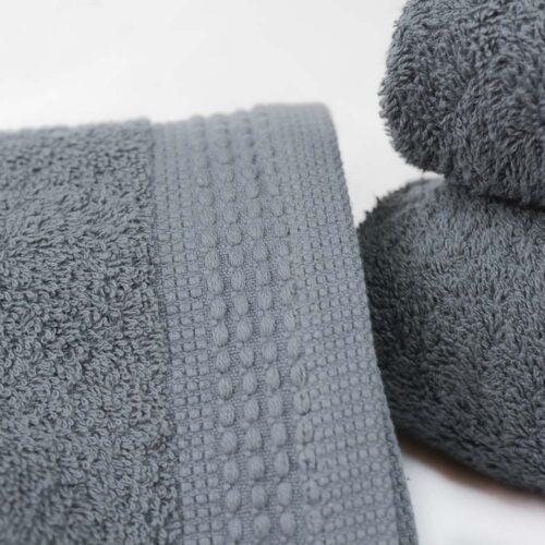 Πετσέτες πεννιέ γκρι