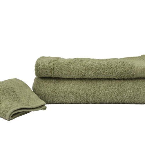 Πετσέτες πεννιέ λαδί