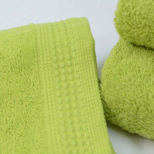 Πετσέτες πεννιέ λαχανί