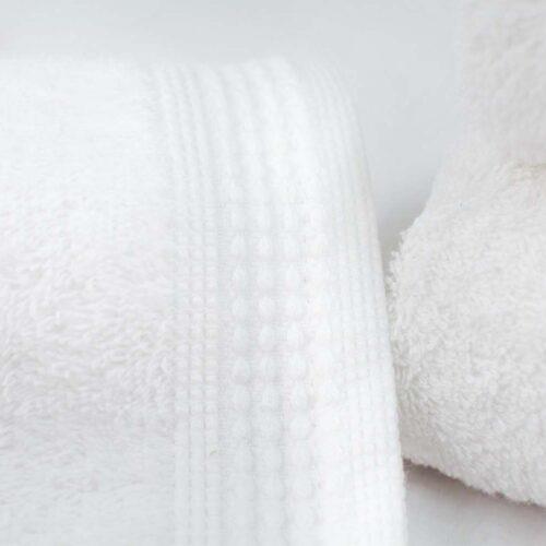 Πετσέτες πεννιέ λευκό
