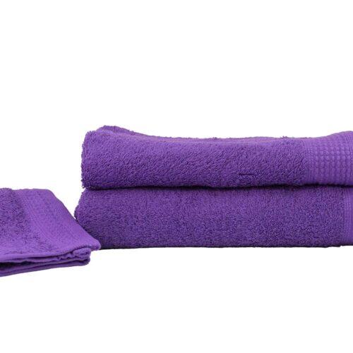 Πετσέτες πεννιέ μωβ