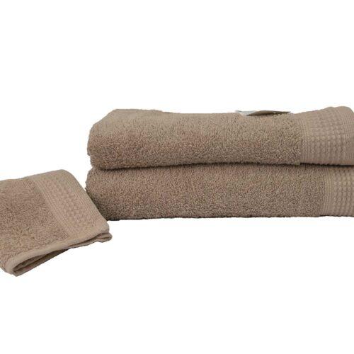 Πετσέτες πεννιέ μπεζ