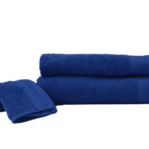 Πετσέτες πεννιέ μπλε σκούρο