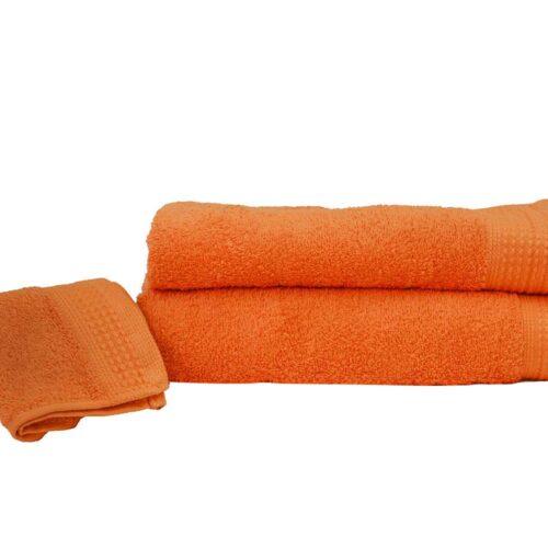 Πετσέτες πεννιέ πορτοκαλί