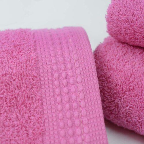Πετσέτες πεννιέ Ροζ