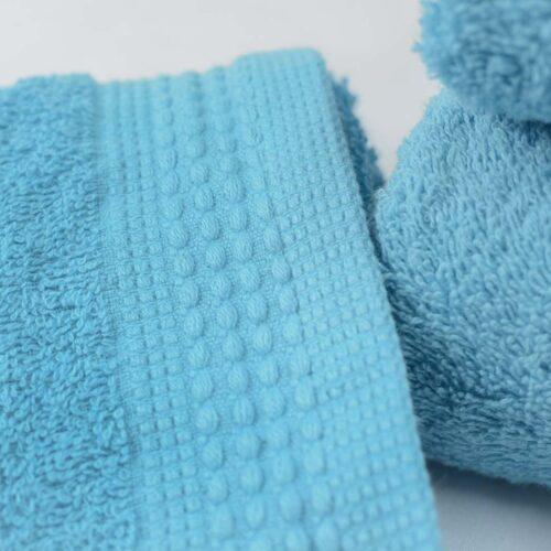 Πετσέτες πεννιέ τυρκουάζ