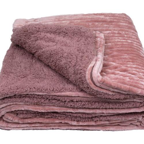 Κουβέρτα Πρόβατο Dusty Rose