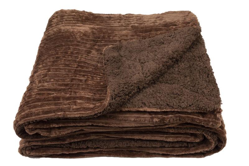 Κουβέρτα Πρόβατο Καφέ