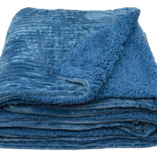 Κουβέρτα Πρόβατο Μπλε