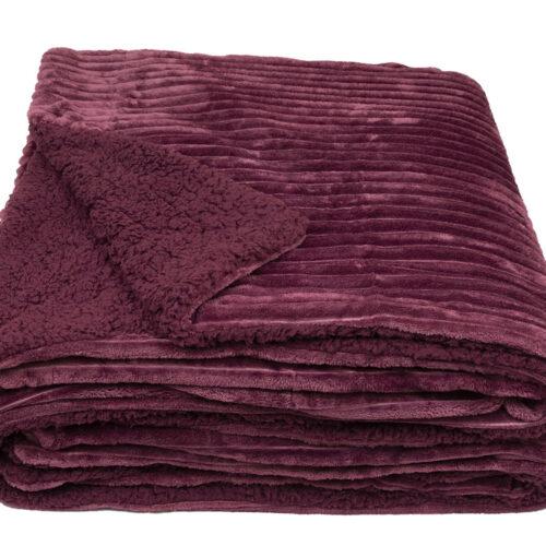 Κουβέρτα Πρόβατο Μπορντώ