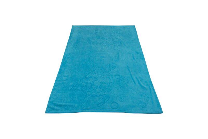 Πετσέτα θαλάσσης χελώνα μπλε