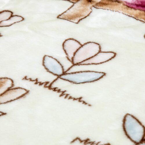 Κουβέρτα κούνιας βελουτέ προβατάκι1