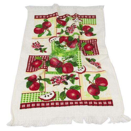 Πετσέτα κουζίνας κόκκινα μήλα