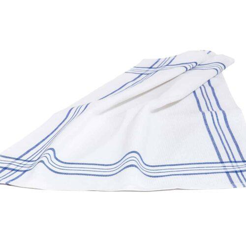 Πετσέτα κουζίνας ρίγα μπλε
