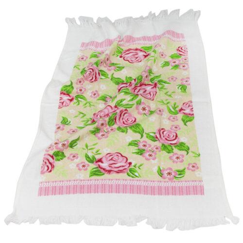 Πετσέτα κουζίνας λουλούδια