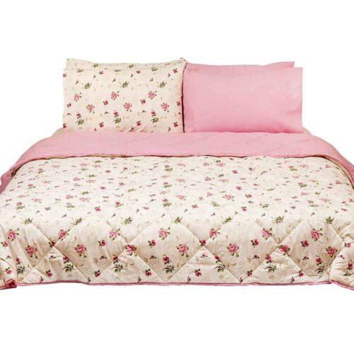 Σεντόνια τριανταφυλλάκι ροζ