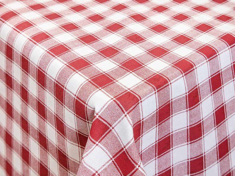 Τραπεζομάντηλο κουζίνας κόκκινο